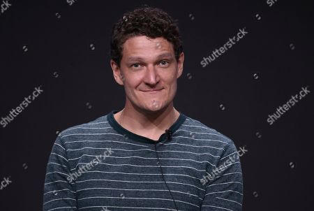 """Stock Picture of Gabriel Ebert participates in AT&T Audience's """"Mr. Mercedes"""" panel at the Television Critics Association Summer Press Tour, in Beverly Hills, Calif"""