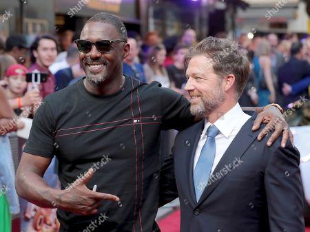 Idris Elba and David Leitch