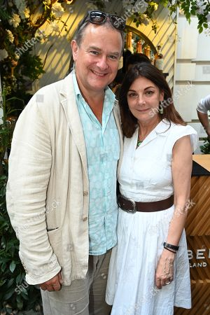 Hugh Bonneville and Susan Young