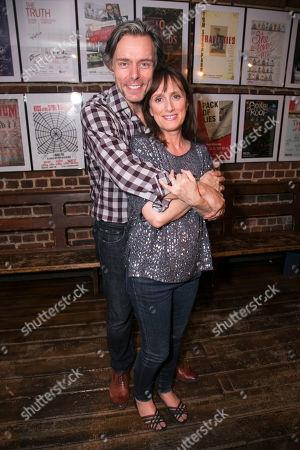 Edward Baker-Duly (Robert) and Jenna Russell (Francesca)