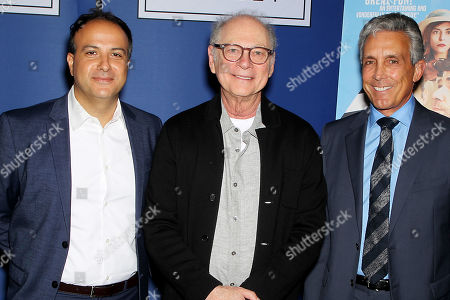 Stock Picture of Sameh Zoabi (Director), Barry Levinson, Charles S Cohen