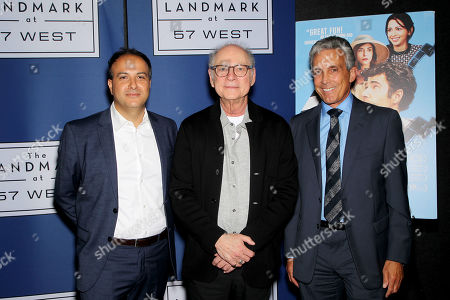 Stock Image of Sameh Zoabi (Director), Barry Levinson, Charles S Cohen