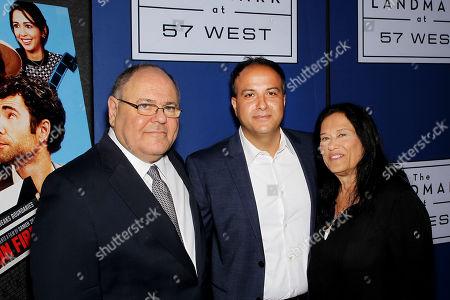 Ambasador Danie Dayan (Consul General of Israel), Sameh Zoabi (Director), Barbara Kopple