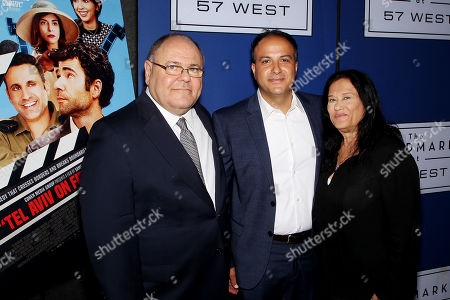 """Editorial image of New York Special Screening of Cohen Media Group's film """"Tel Aviv On Fire"""" Hosted by Barry Levinson, USA - 23 Jul 2019"""