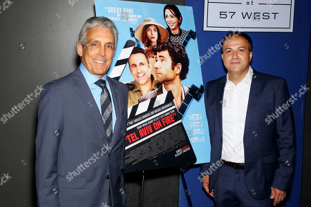 Stock Image of Charles Cohen, Sameh Zoabi (Director)