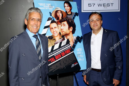 "Editorial photo of New York Special Screening of Cohen Media Group's film ""Tel Aviv On Fire"" Hosted by Barry Levinson, USA - 23 Jul 2019"