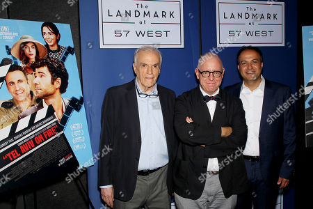 Stock Photo of Dan Kleinman (Screenwriter), James Schamus, Sameh Zoabi (Director)