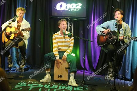 New Hope Club - George Smith, Reece Bibby and Blake Richardson