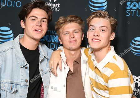 New Hope Club - Blake Richardson, George Smith and Reece Bibby
