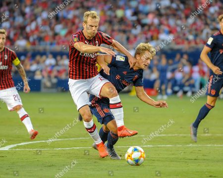 Editorial picture of International Champions Cup : AC Milan vs FC Bayern, Kansas City, USA - 23 Jul 2019