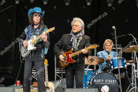 Marty Stuart and The Fabulous Superlatives - Kenny Vaughan, Marty Stuart and Harry Stinson