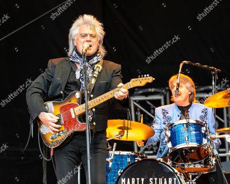 Marty Stuart and The Fabulous Superlatives - Marty Stuart and Harry Stinson