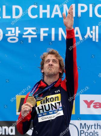 Editorial picture of Swimming Worlds, Gwangju, South Korea - 24 Jul 2019