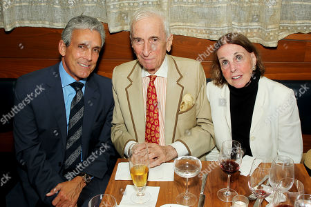 Stock Photo of Charles S Cohen, Gay Talese, Nan Talese