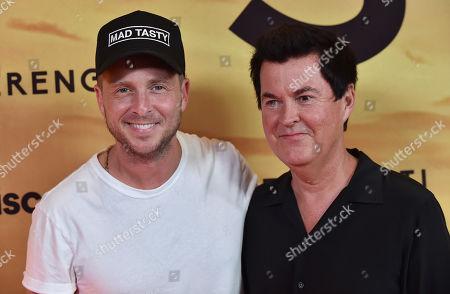 Ryan Tedder and Simon Fuller