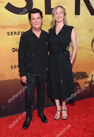 Simon Fuller and Natalie Swanston