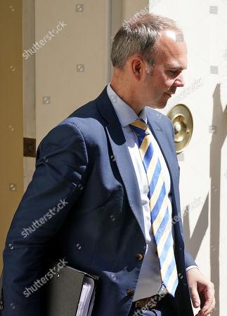 Gavin Barwell leaves Downing Street