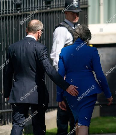 Editorial photo of Theresa May resignation as British Prime Minister, London, United Kindgom - 24 Jul 2019