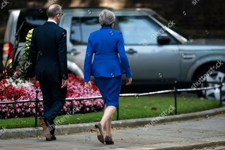Editorial image of Theresa May resignation as British Prime Minister, London, United Kindgom - 24 Jul 2019