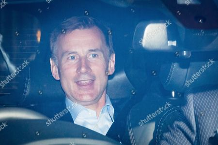 Former British Foreign Secretary, Jeremy Hunt leaves the Houses of Parliament after it was reported that he declined a role in Boris Johnson's new government in London, Britain, 24 July 2019. Former London mayor and foreign secretary Boris Johnson is taking over the post after his election as party leader was announced the previous day. Theresa May stepped down as British Prime Minister following her resignation as Conservative Party leader on 07 June.
