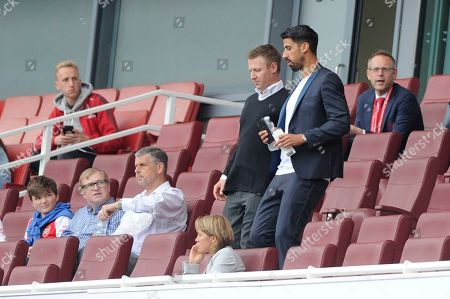 Sami Khedira is seen during the Emirates Cup match between Arsenal Women and Bayern Munich Women at the Emirates Stadium in London, UK - 28th July 2019