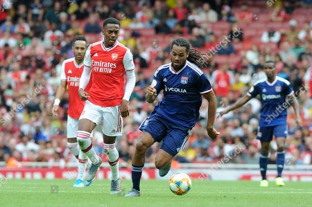 Editorial picture of Arsenal v Lyon, Emirates Cup pre season friendly football, Emirates Stadium, UK - 28 Jul 2019