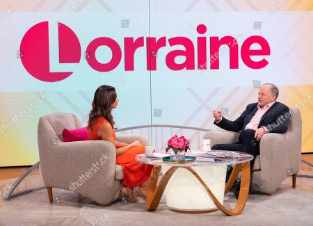 Stock Picture of Christine Lampard and Clive Anderson