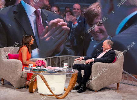 Editorial photo of 'Lorraine' TV show, London, UK - 24 Jul 2019