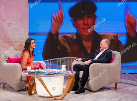 Stock Image of Christine Lampard and Clive Anderson