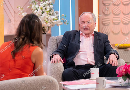 Christine Lampard and Clive Anderson
