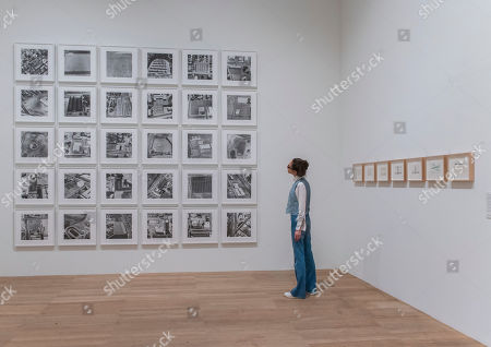 From Thirtyfour Parking Lots in Los Angeles series, 1967 - Artist Rooms: Ed Ruscha at Tate Modern. The latest in the series of annual free displays in the dedicated Artist Rooms gallery in Tate Modern's Blavatnik building. It opens to the public on 26 July 2019 and will run until Spring 2020.