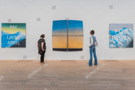 Editorial picture of 'Artist Rooms: Ed Ruscha' exhibition, Tate Modern, London, UK - 24 Jul 2019 - 24 Jul 2019