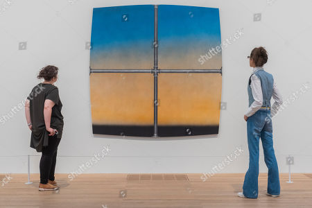 Editorial image of 'Artist Rooms: Ed Ruscha' exhibition, Tate Modern, London, UK - 24 Jul 2019 - 24 Jul 2019