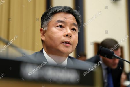Rep. Ted Lieu, D-Calif., asks questions to former special counsel Robert Mueller, as he testifies before the House Judiciary Committee hearing on his report on Russian election interference, on Capitol Hill, in Washington