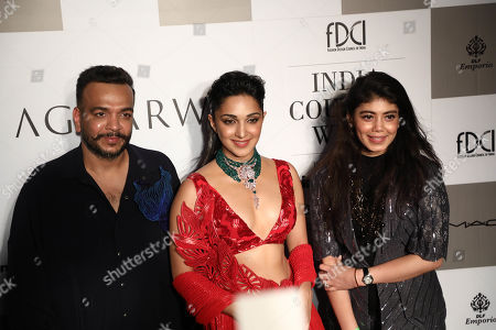 Editorial picture of Amit Aggarwal show, Front Row, FDCI India Couture Week, New Delhi, India - 24 Jul 2019