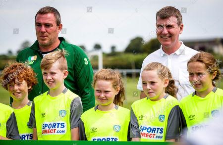 Editorial image of FAI Festival of Football Media Event With Stephen Kenny, Duleek Schoolboys/Girls FC, Co. Meath  - 24 Jul 2019
