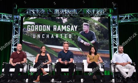Editorial picture of National Geographic 'Gordon Ramsey: Uncharted' TV Show panel, TCA Summer Press Tour, Los Angeles, USA - 23 Jul 2019