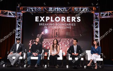 Editorial image of Meet the National Geographic Explorers: Breaking Boundaries in Storytelling panel, TCA Summer Press Tour, Los Angeles, USA - 23 Jul 2019