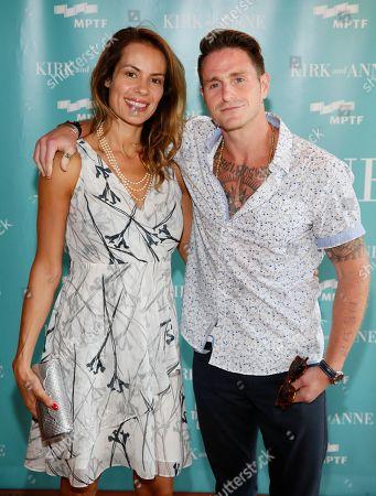 Viviane Thibes and Cameron Douglas