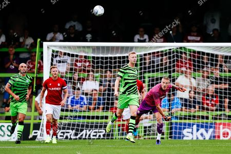 Daniel James Bentley of Bristol City in action during the pre-season friendly against Forest Green Rovers