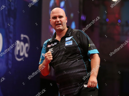 Rob Cross during the World Matchplay Darts 2019 at Winter Gardens, Blackpool