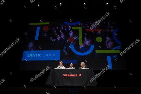 Editorial photo of Santiago International Cinema Festival (Sanfic) in Santiago, Chile - 24 Jul 2019