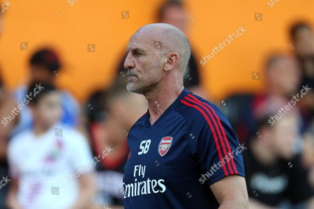 Arsenal under-23s Head Coach Steve Bould during Barnet vs Arsenal, Friendly Match Football at the Hive Stadium on 24th July 2019