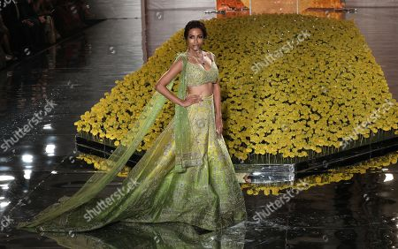 Editorial image of India Couture Week 2019 in New Delhi - 25 Jul 2019