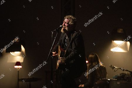 Stock Picture of Glen Hansard performs on stage during a concert at the Blue Balls Festival in Lucerne, Switzerland, 23 July 2019. The music event runs from 19 to 27 July.