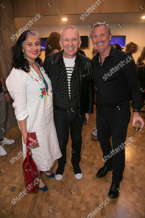 Rina Gill, Jean Paul Gaultier and Garry McQuinn