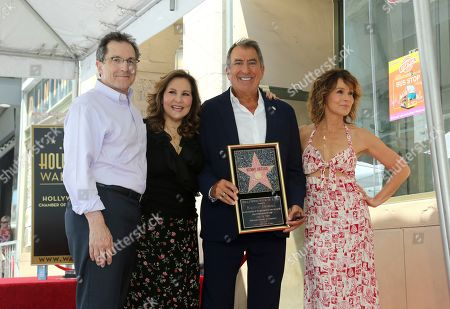 Gary Marsh, Kathy Najimy, Kenny Ortega, Jennifer Grey. Gary Marsh, from left, Kathy Najimy, Kenny Ortega and Jennifer Grey pose with a star miniaturette at the ceremony honoring Ortega with a star at the Hollywood Walk of Fame, in Los Angeles