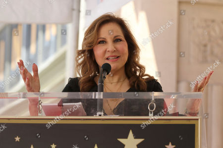 Kathy Najimy. Kenny Ortega speaks at the ceremony honoring Kenny Ortega with a star at the Hollywood Walk of Fame, in Los Angeles