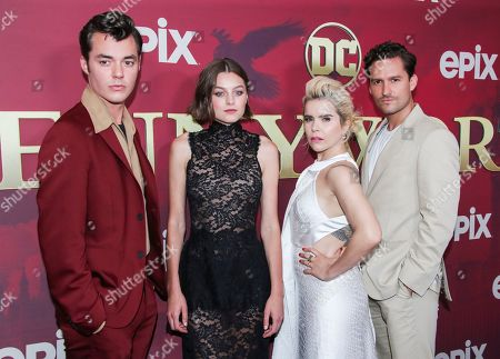 Jack Bannon, Emma Corrin, Paloma Faith and Ben Aldridge