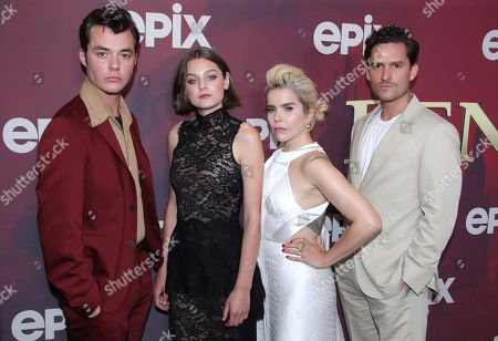 Stock Picture of Jack Bannon, Emma Corrin, Paloma Faith and Ben Aldridge